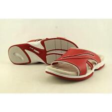 Scarpe da donna rossi marca Easy Street tacco basso ( 1,3-3,8 cm )