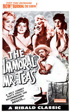 """Immoral Mr Teas Exploitation Movie Poster Replica 13x19"""" Photo Print"""