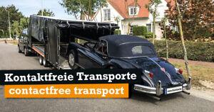 """""""Kontaktfreie"""" Fahrzeugtransport ab Lübeck Ahrensburg Bad Oldesloe Bad Segeberg"""
