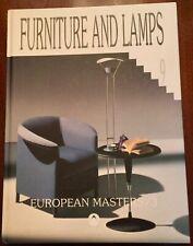 'FURNITURE AND LAMPS~VOL.9:EUROPEAN MASTERS/3' ~ FURNITURE DESIGNS/ DESIGNERS.