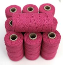 BAKERS TWINE - HOT PINK - ONE 100m roll 12ply - Christmas gifts, wedding tags
