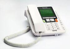 Beetel M71 Corded Landline Speaker Phone (White)