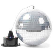 Boule à Facette Diametre 20 Cm avec Leds + Moteur avec Leds