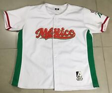 Men's Authentic MEXICO baseball Team Sz XL Jersey 2018 Serie del Caribe Arrieta