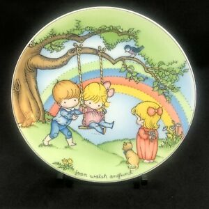 Joan Walsh Anglund Make Each Day a Rainbow Collector Plate 1981 Limited Edition