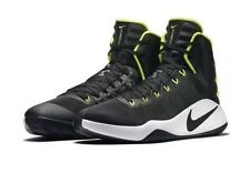 NIB NIKE AIR ZOOM HYPERDUNK 2016 BASKETBALL SHOES BLACK WHITE VOLT MEN SIZE 11.5