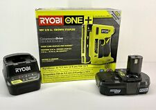"RYOBI P317 18V ONE+ 3/8"" Crown Stapler KIT W Battery & Charger *NEW*"