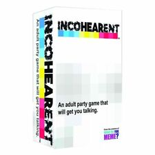 Incohearent Card Game NEW PREORDER 10/6