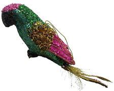Papagei glitzernd mit Perlen etc bestreut 32 cm zum aufhängen
