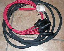 DIGIDESIGN  CABLE LINE OUT BALANCED  CABLE DB25/XLR 8