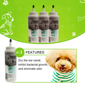 Pet Ear Powder Dogs Cats Ear Safe Health Care Easy Use Remove Ear Hair Cleaning