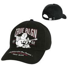 True Religion Men's Music Poster Buddha Baseball Cap Sports Strapback Hat