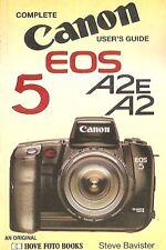 CANON EOS5 A2 FOTO HOVE BOOKS BAVISTER 1993 USER GUIDE COMPLETE