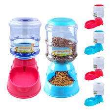 Automatic Pet Feeder Cat Dog Water Fountain Food Dispenser 6 Meal Large Bowls