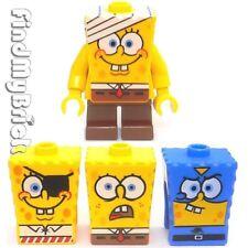 M836 Lego SpongeBob SquarePants Minifig & 3 Extra Faces 3832 4981 3815 3817 NEW