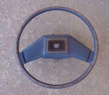 79 -87 CADILLAC FLEETWOOD / DeVILLE OEM BLUE TILT/TELESCOPIC STEERING WHEEL