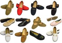 Ladies Womens Slip On Loafers Moccasins Comfortable Shoes Smart Work Dolly Pump