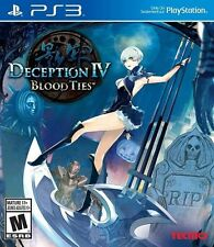 Deception IV: Blood Ties (PlayStation 3) PS3 Complete - Works Great