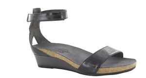 Naot Pixie Black/Black/Black Wedge Sandal Women's sizes 5-11/36-42NEW!!!