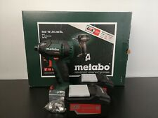 Metabo SSD 18 LTX 200 BL 18V Brushless Impact Driver with 2 x 5.2Ah Batteries