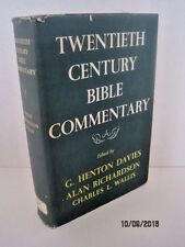 Twentieth Century Bible Commentary by G. Henton Davies & Alan Richardson