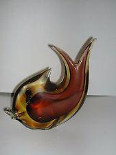 Flavio Poli Sommerso Murano Glass Fish