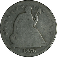 1876-S Seated Half Dollar Great Deals From The Executive Coin Company