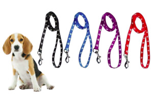 Soft Nylon Puppy Walking Obedience Lead / Small Dog Recall Training Leash 1.26m