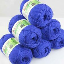 Sale Lot 6 ballsx50g Super Soft Bamboo Cotton Baby Hand Knitting Crochet Yarn 23