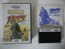 INDY INDIANA JONES AND THE LAST CRUSADE - SEGA MASTER SYSTEM - COMPLET