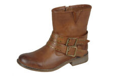 Ladies Rieker 95669-24 Brown Ankle Boots - EU Sizes 36 - 38