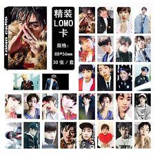 New 30pcs / set Kpop NCT NCT 127 WINWIN Poster Photo card Lomo card