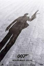 JAMES BOND ~ QUANTUM OF SOLACE ~ 24x36 ONE SHEET TEASER MOVIE POSTER  007