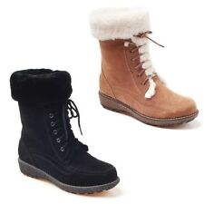 UGG Australia Suede Lace Up Boots for Women