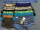 8 bonds wide band boys cotton underwear Trunk BOXER SHORTS size 2-16