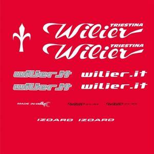 Wilier Triestina Izoard Bicycle Decals, Stickers n.1