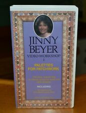 Jinny Beyer Video Workshop Paletes For Patchwork VHS Quilting Instruction Crafts