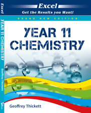 Excel Year 11 Chemistry NEW Edition by Pascal Press 9781741256758 Free Shipping