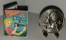 1:12 SCALE MINIATURE PAPER DOLLS SET TRIXIE BELDEN 1956