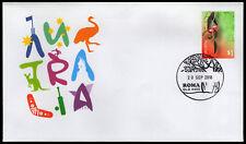 2018 Roma Qld Bottle Tree Permanent Pictorial Postmark Fdi Stamps Australia Post