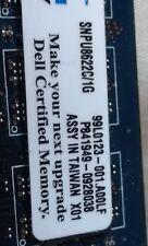 2GB (2X1GB) Dell SNPU8622C/1G DDR2  PC2-5300 Non ECC 667Mhz Memory