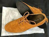 "NEW ""BRUNO MARC"" Men's Urban Casual Plain Suede Lace up Flat Oxfords Dress Shoes"