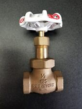 "1/2"" threaded directional gate valve"