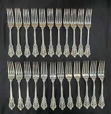WALLACE GRANDE BAROQUE STERLING SILVER PLACE FORK - No Monogram