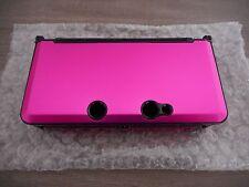 Coques Rose Aluminium Nintendo 3DS NEUVES