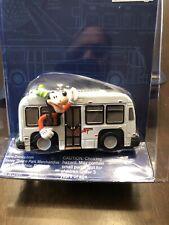 Disney Parks die cast metal transport bus mickey & goofy New In package!