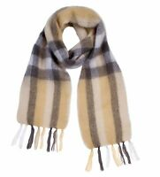 MOHAIR WOOL Scarf. Superfine-Long Goodbye Design. S.African. NEW. Ships from USA