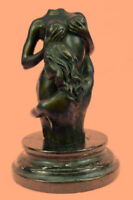 EROTIC BRONZE DEPICTING LESBIAN LOVERS-EXCEPTIONAL QUALITY-MARIO NICK DECOR DEAL
