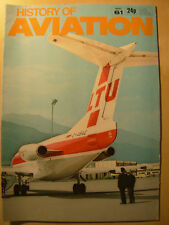 HISTORY OF AVIATION MAGAZINE PART 61 FRENCH AIRCRAFT INDUSTRY - AIRCRAFT FLIGHT