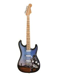 Miniature Guitar Replica - Pink Floyd 'Delicate sound of thunder' Tribute